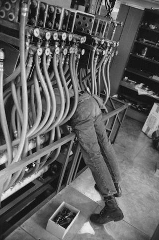 HCB, Accélérateur linéaire, Université de Stanford, Californie, 1969