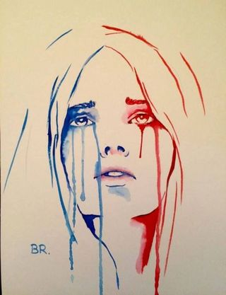Benjamin Regnier Marianne pleure