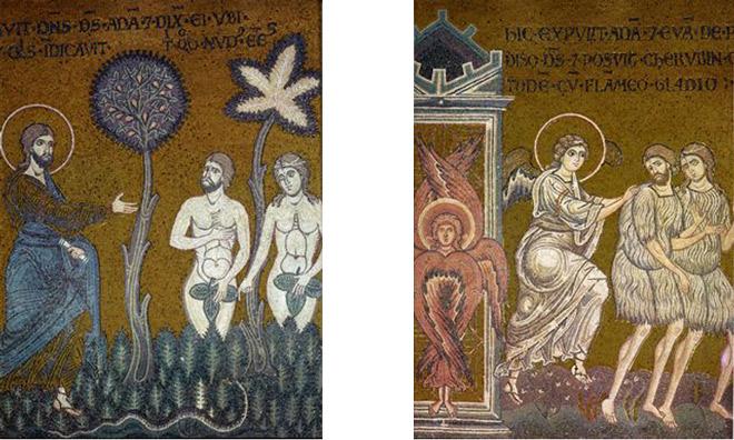 Monreale-5-Adam-et-Eve-chassés