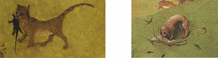 Bosch-7-Jardin-des-délices-Panneau-gauche-la-mort