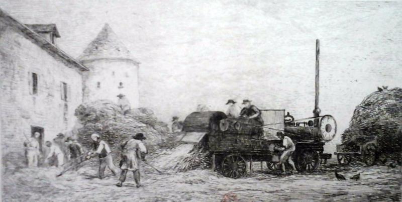 Charles-Daubigny-machine-à-battre-le-blé
