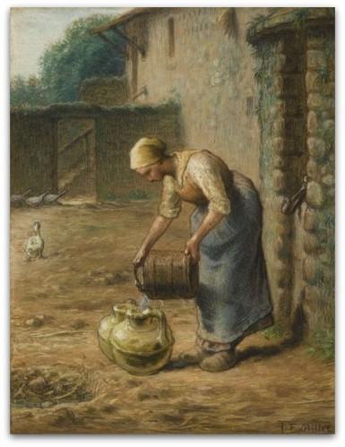 Millet la-femme-aux-puits