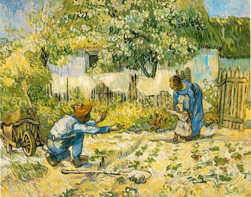 Van Gogh Les premiers pas