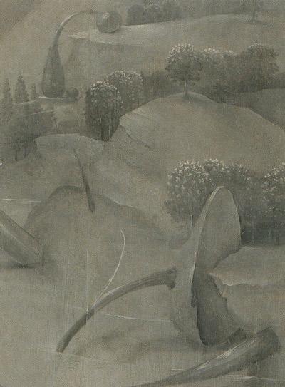 Bosch-3-Jardin-des-délices-volets-fermés-détail