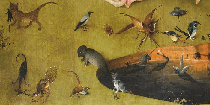 Bosch-6-Jardin-des-délices-Panneau-gauche-la-mare