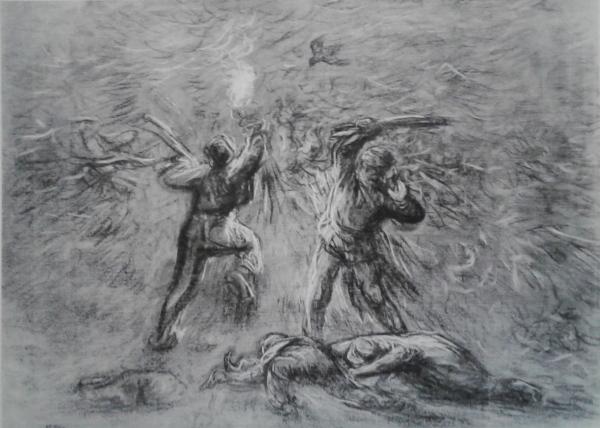 Chasse aux oiseaux gravure (1)