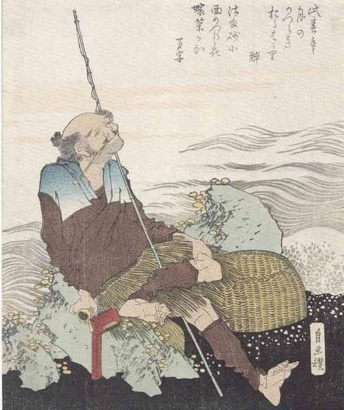 Pêcheur-autoportrait