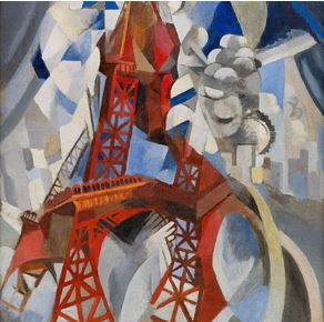 La tour rouge Robert Delaunay