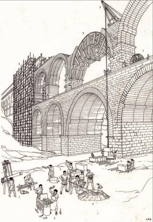 Web-Construction-romaine_Pont-du-Gard-avec-chiffres