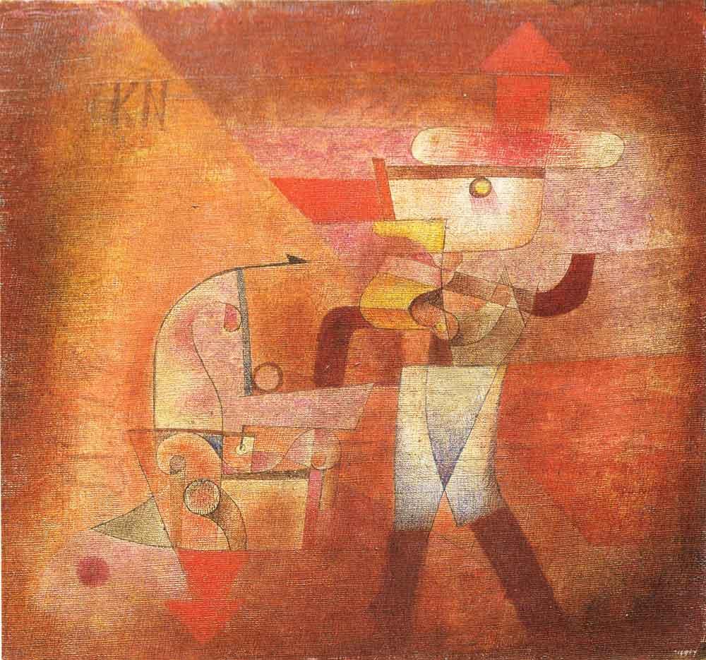 Le Forgeron De Paul Klee Penser Le Travail Autrement