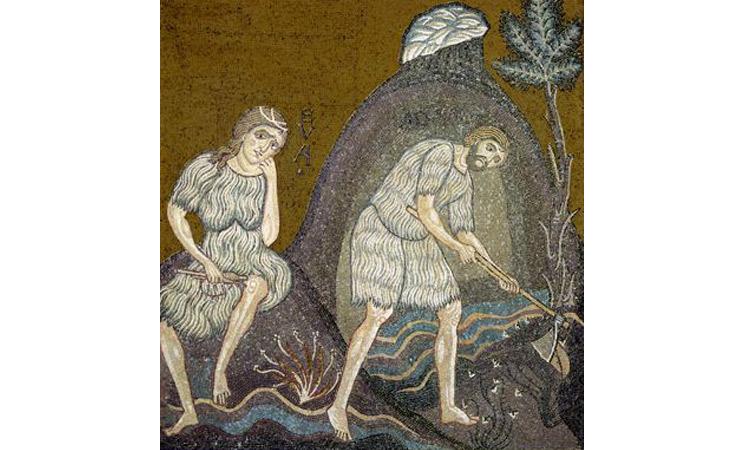 Monreale-6-Adam-et-Eve-travaillent