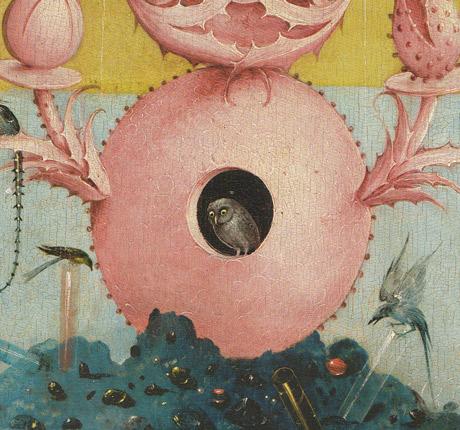 Bosch-5-Jardin-des-délices-Panneau-gauche-chouette