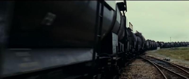 11 Chant du styrène Train de marchandises