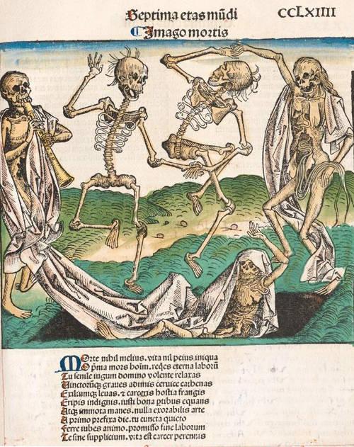 Danse des squelettes de la Chronique de Nuremberg