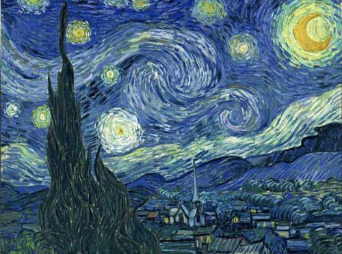 Van Gogh Nuit étoilée