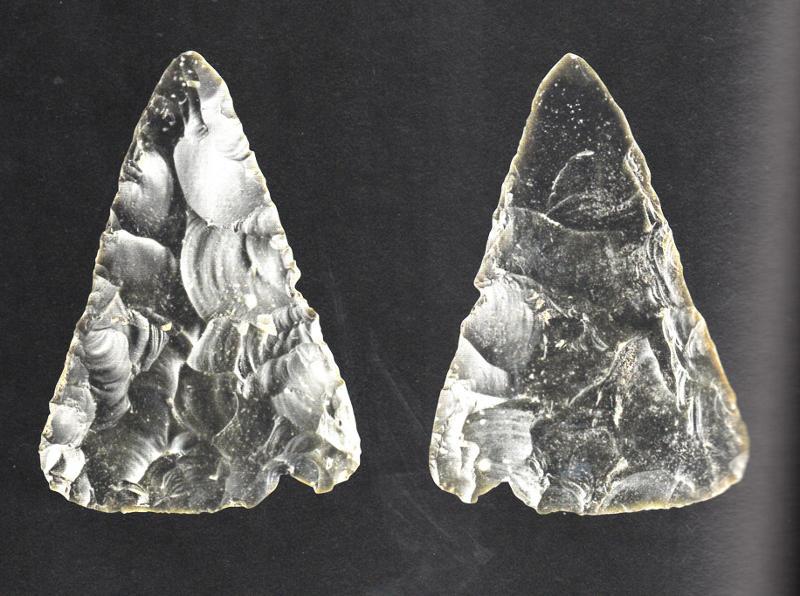 Neandertal Biface triangulaire