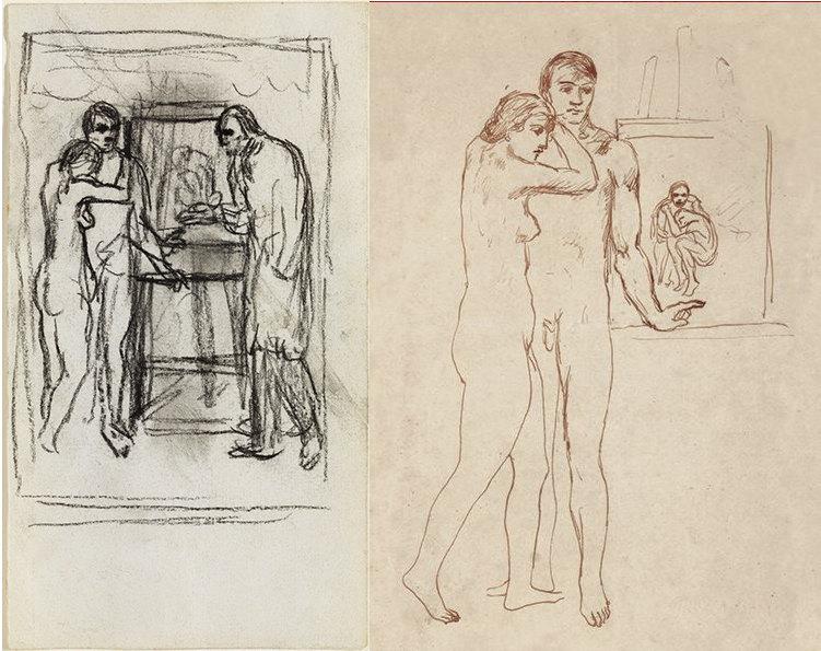 3-Etudes-La-Vie-Picasso