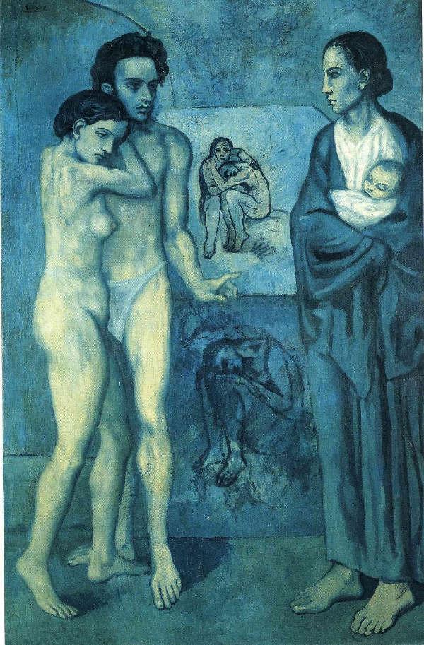 La Vie, Picasso, 1903