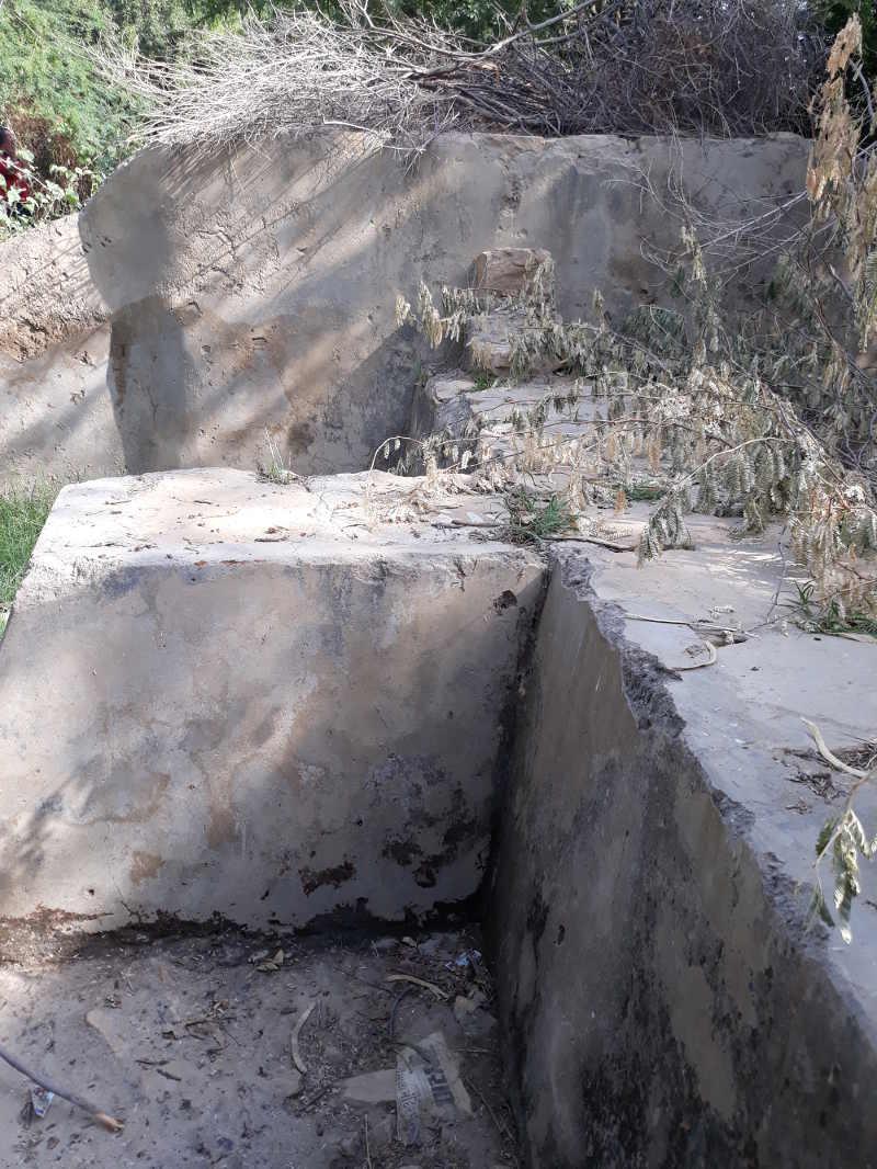 Bada Bagh Barrage de retenue d'une rivière temporaire