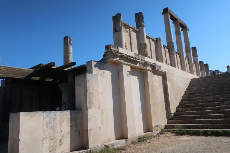 Epidaure Sanctuaire  L'Abaton partie inférieure