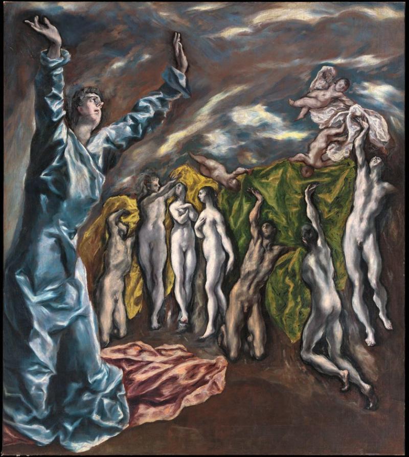 Le Greco l'ouverture_du_cinquieme_sceau