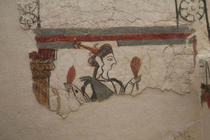 Fresque Mycenienne registre inférieur