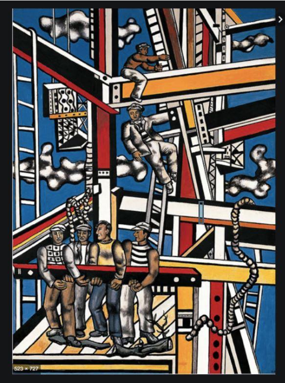 Les constructeurs_Fernand Léger