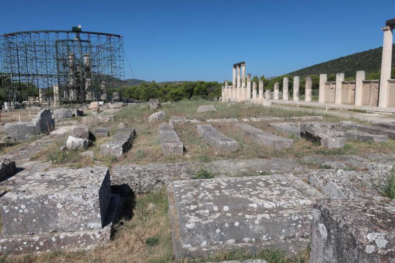 Epidaure Le coeur du Sanctuaire