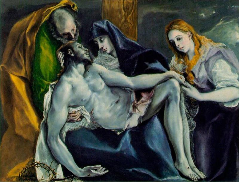 Le Greco Pieta