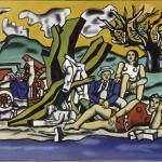 2 Une partie de campagne 1953 _Fernand Léger