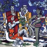 1 Les Loisirs_Hommage à Louis David Fernand Léger