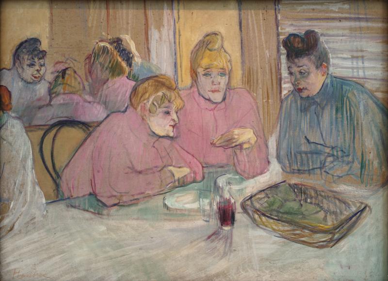 Toulouse-Lautrec Ces dames au réfectoire 1893-1894