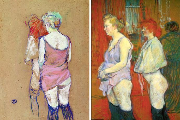 Toulouse Lautrec Visite périodique