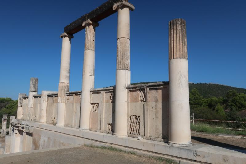 Epidaure Sanctuaire L'Abaton Partie supérieure