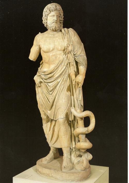 Musée d'Epidaure Statue d'Esculape