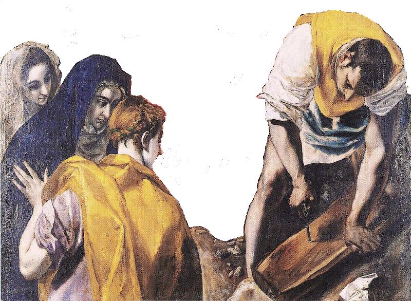 Le Greco Charpentier au travail r