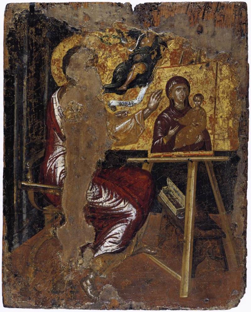 Le Greco Saint Luc peignant la vierge
