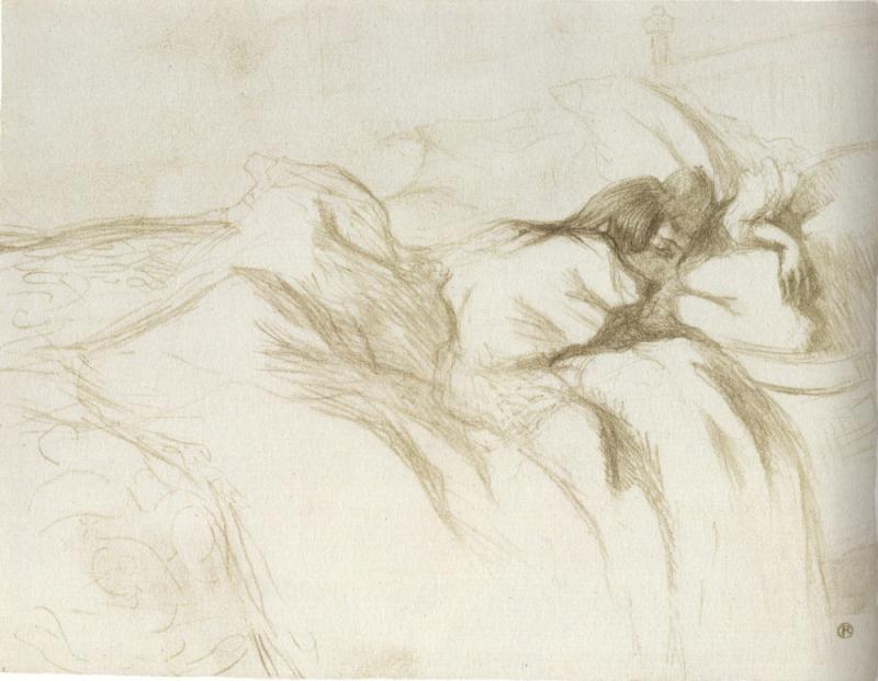 Toulouse-Lautrec Elles réveil