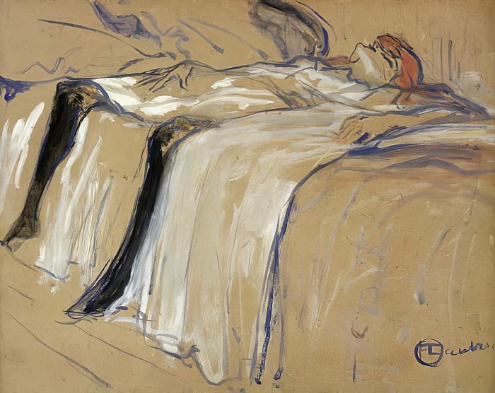 Toulouse-Lautrec Seule 1896