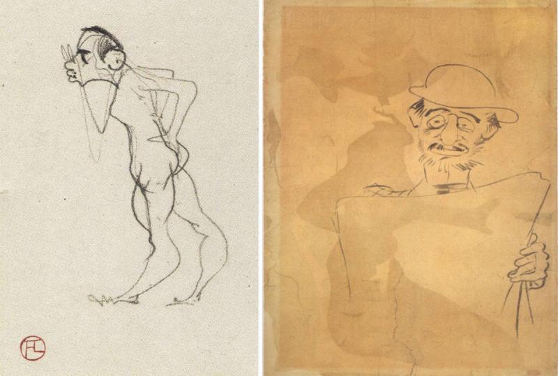 Toulouse-Lautrec vu par lui même