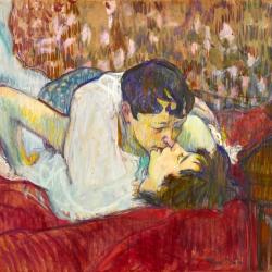Toulouse-Lautrec Le baiser 1893