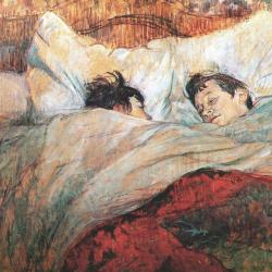 Toulouse-Lautrec Dans le lit 1892
