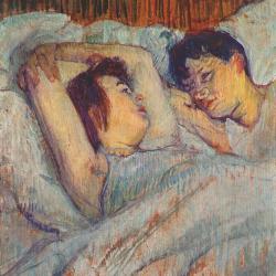 Toulouse-Lautrec Dans le lit