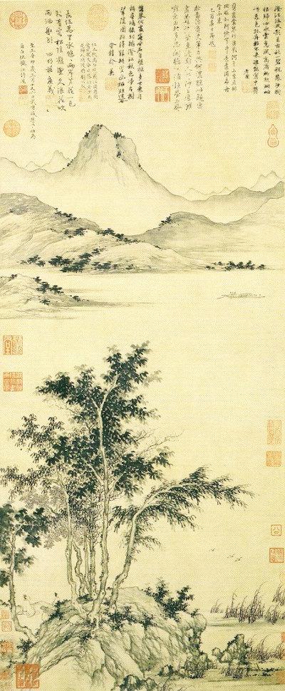 4 Attente_du_bac_près_d'un_fleuve_en_automne_Sheng_Mao