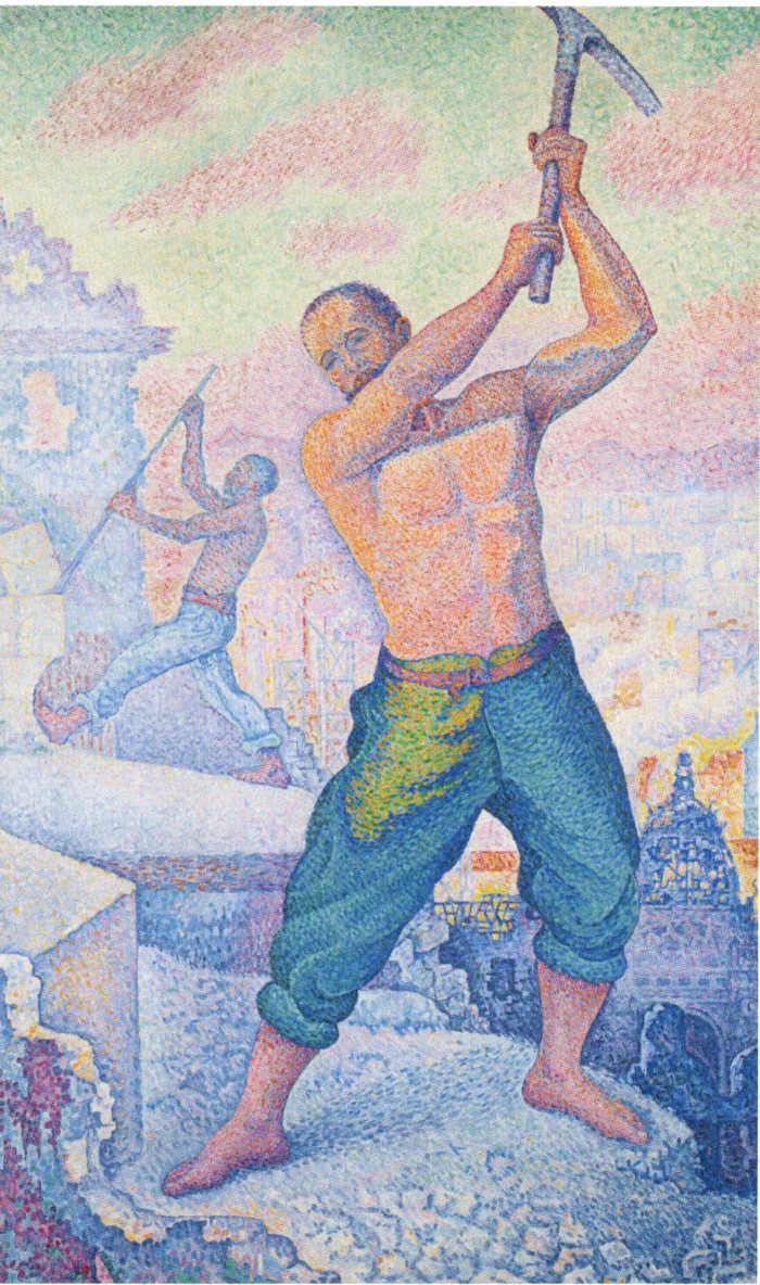 Paul Signac L'ouvrier ou le Démolisseur